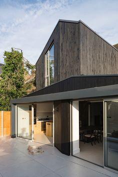 Neil Dusheiko Architects: Black Ridge House, London.