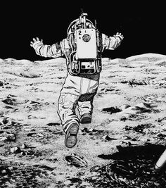 One giant leap for mankind.: