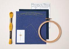Aries Zodiac Embroidery Kit - $20
