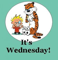 Find very good Jokes, Memes and Quotes on our site. Keep calm and have fun. Funny Pictures, Videos, Jokes & new flash games every day. Wednesday Humor, Wacky Wednesday, Wednesday Wishes, Calvin And Hobbes Books, Funny Images, Funny Pictures, Pictures Images, Good Morning Wednesday, Flirty Quotes