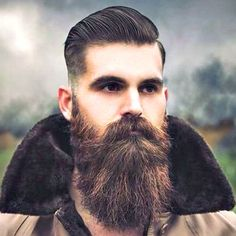 An awesome collection of the best beard styles for short beards, medium beards, long beards and everything in between. Showcasing the best beards of the best beard styles. Get ideas to grow your beard for longer or shorter styles. Beards And Mustaches, Moustaches, Beard Styles For Men, Hair And Beard Styles, Barba Sexy, Sexy Bart, Mens Hairstyles With Beard, Men's Hairstyles, Beard Growth Oil