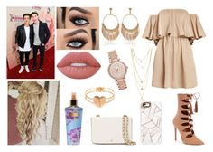 """""""AMERICAN MUSIC AWARDS (:"""" by jblover-1fan ❤ liked on Polyvore featuring Steve Madden, Lime Crime, Casetify, Tory Burch, Victoria's Secret and Michael Kors"""