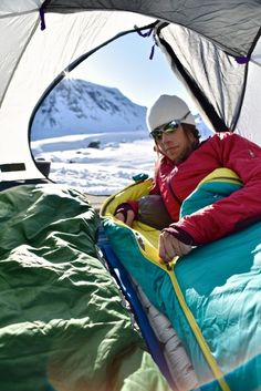 Gear Review: Spring Winter Camping with Mountain Hardwear's Lamina Z Sleeping Bags