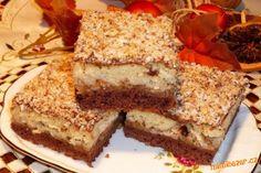 Plazma cake with sour cherries Brze Torte, Serbian Recipes, Serbian Food, Biscuits, Torte Cake, Vanilla Cookies, Round Cake Pans, Melting Chocolate, No Bake Cake