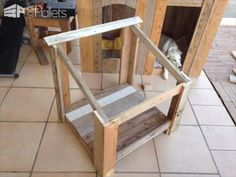 Weather Resistant House for Your Furry Buddy Animal Pallet Houses & Pallet Supplies
