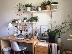 Shelfie #workspacegoals  regram from @manufaktura_splotow in Poland  This is the stunning plant filled workspace of Joanna in Poland   Plenty of space to be creative here!We love the shelves keeping all the goodies within arms reach  Thanks Joanna for showing us how to do workspace shelfies in style  by workspacegoals