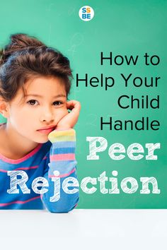 Your child is social and wants to make friends. but other kids aren't interested. It's heartbreaking to see your child face disappointment, especially when she's so eager to make friends. Here's how to help your social child handle peer rejection. Kids And Parenting, Parenting Hacks, Parenting Classes, Parenting Styles, Parenting Quotes, Child Development, Language Development, Character Development, Raising Kids