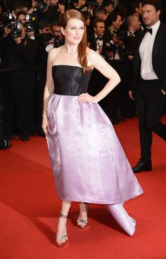 Julianne Moore in Christian Dior haute couture Spring/Summer 2013