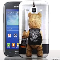 Coque de Telephone Samsung Galaxy Ace 4 Silicone personnalisée - Teddy Sons  Of Anarchy.   614116bfea20
