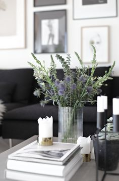 Flowers, living room, stylizimo home