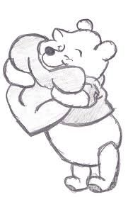 Image result for pooh drawing