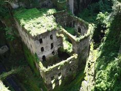 Abandoned architecture, Sorrento, Italy.