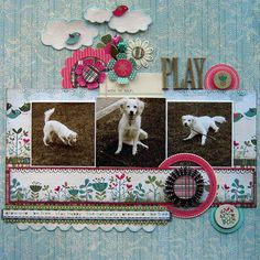 Paradise Page by Debbie found on the Artful Delight Blog