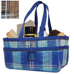 Kensington KPP Show Tote, Deluxe Black Plaid, One Size by Kensington. Save 30 Off!. $14.06. Carry all grooming & health supplies. Mesh for easy cleaning. Interior has elastic straps to hold containers. Pockets on all four outer sides for hoof picks, mane combs, wormers, medication, etc.. Long lasting & durable. A handy way to carry all your grooming and health supplies. The interior includes elastic straps to hold containers. The pockets on all for outer sides can hold everyt...