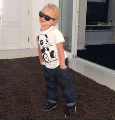 Neymar publicó una foto de David Lucca felicitar al muchacho, 3 años