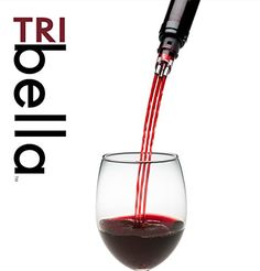 TRIbella Wine Aerator  Premium Wine Gift ** Learn more by visiting the image link.