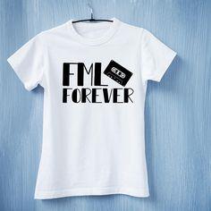 13 reasons why FML Forever T-shirt #13ReasonsWhy #FMLforever #HannahBaker #cassette