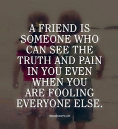 Real friends :-)