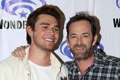 KJ Apa and Luke Perry interview on Riverdale