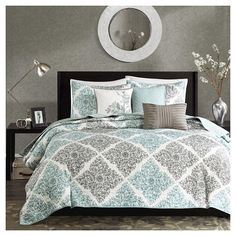 Arbor Floral Quilted Coverlet Set - 6-Piece : Target