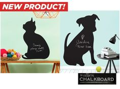 Every Wallies Peel & Stick design is made of durable, self-adhesive backed vinyl that can be repositioned easily. Wallies won't leave any sticky residue. To use, simply peel the pieces off of the backing and apply to any clean, smooth surface.  With cute kitten and puppy designs, its decorative and creative at the same time.