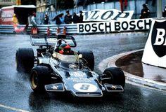 Emerson Fittipaldi (JPS Lotus-Ford 72D) Grand Prix de Monaco 1972