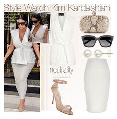 """Style Watch:Kim Kardashian"" by nfabjoy ❤ liked on Polyvore"