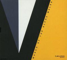 2003 Ilmiliekki Quartet - March Of The Alpha Males [TUM Records TUMCD005] artwork: Lars-Gunnar Nordström #albumcover Abstract #art #Jazz #music