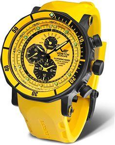 Vostok Europe Reloj de caballero YM86-620C504: Amazon.es: Relojes