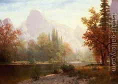 Albert Bierstadt:Half Dome, Yosemite