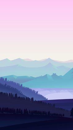 pink and blue anime mountains wallpaper Kawaii Wallpaper, New Wallpaper, Galaxy Wallpaper, Nature Wallpaper, Wallpaper Backgrounds, Wallpaper Maker, Black Wallpaper, Iphone Wallpaper Landscape, Anime Scenery Wallpaper