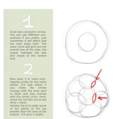 How To Draw A Rose #Musely #Tip