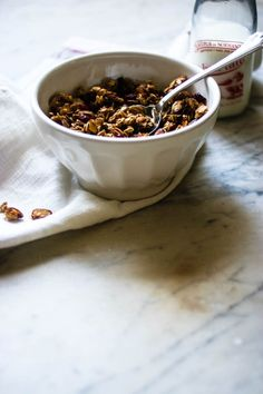 Homemade Granola | for the love of the south