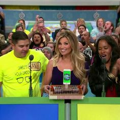 Amber Lancaster - The Price Is Right (4/25/2016) ♥