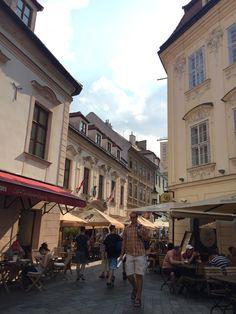 Bratislava Old Town Europe Train Travel, Travel Around Europe, Split Hvar, Bratislava Slovakia, By Train, Dubrovnik, Prague, Summer 2016, Old Town