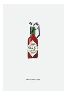 Explosive flavor :: #tabasco #ad ---> Repinned by www.gers.nl
