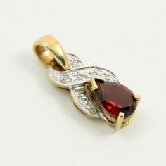 Vintage Estate Jewelry 9k Gold 9ct Gold Garnet and by mybooms