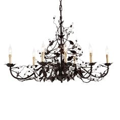 Claire 8-Light Oval Chandelier