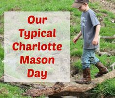A peek inside a typical charlotte mason homeschool day | www.thecharlotemasonway.com