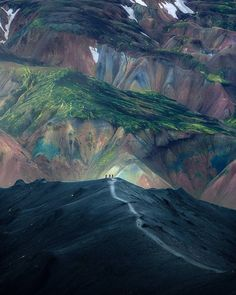 Volcanic desert of Landmannalaugar, Iceland Photo: Arnar Kristjansson Photography Travel Images, Travel Photos, Beautiful Places To Visit, Places To See, Landscape Photography, Travel Photography, Aerial Photography, Iceland Travel Tips, Travel Guide