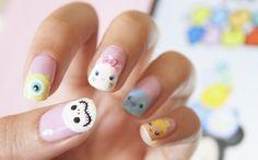 Jack & Tsum tsum nails!