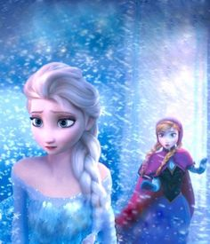 Frozen - The snow storm intensifies because Queen Elsa begins to fear that Arendelle will be Frozen forever.  She also fears what will happen if she returns to Arendelle to try to unfreeze it somehow (the townspeople might kill her). She also fears what might have to happen, in order to unfreeze everything (she might have to die). SO MANY FEELS IN ONE PICTURE!
