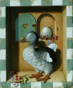 Suzan Visser | OIL | Dodo's Egg