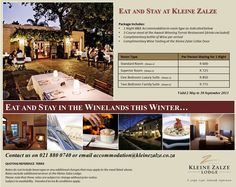 Kleine Zalze Lodge Specials, May 2013 Superior Room, Room Doors, 1st Night, Winter Warmers, Luxurious Bedrooms, One Bedroom, Cellar, Wine Tasting, South Africa