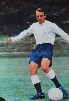 Jimmy Greaves of Spurs and England (from Charles Buchan's Football Monthly magazine - January 1965)