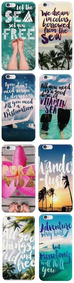 Travel Quote Phone Cases @seattlestravels (Travel Gadgets Diy)