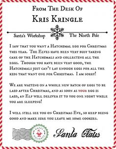 The 25 best letter from santa template ideas on pinterest a letter the 25 best letter from santa template ideas on pinterest a letter from santa template a letter from santa templateg 736969 santa pinterest spiritdancerdesigns Gallery