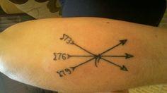 Tatuagem dos irmãos... amo demais...