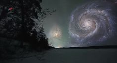 Heres How Our Night Sky Would Look If Celestial Bodies Were Closer To Earth