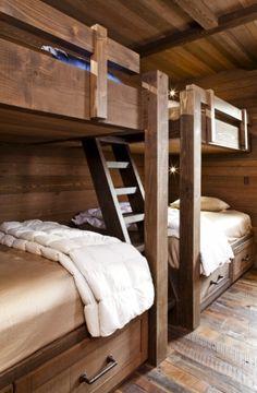 great cabin bunks